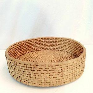 """10"""" roll basket boho woven"""
